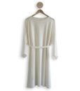 Shop Kapalo dress finnish fashion sustainable hygge luxurious wool made in finland aurora sofia suomi100