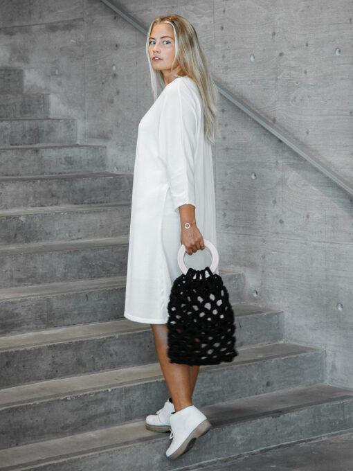 Shop Kapalo dress finnish fashion sustainable hygge luxurious wool made in finland theaurorasofia