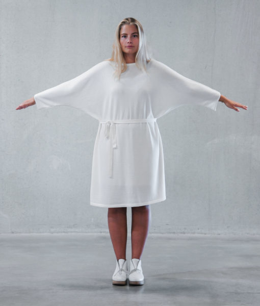 Shop Kapalo dress finnish fashion sustainable hygge luxurious wool made in finland theaurorasofia