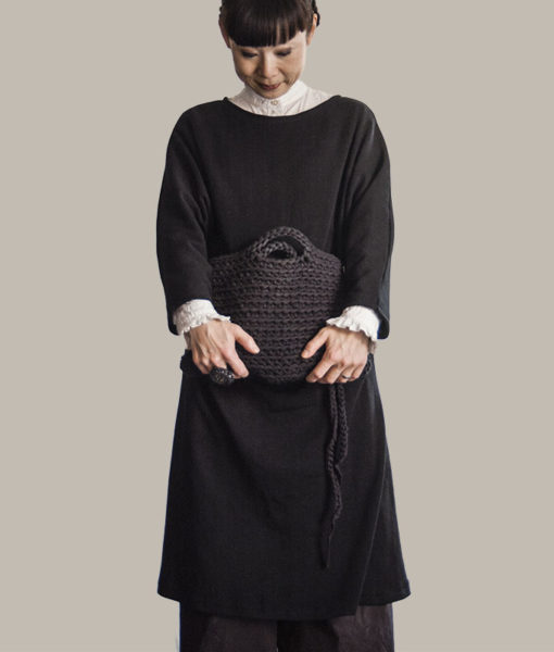 Shop Kapalo dress finnish fashion sustainable hygge luxurious wool made in finland aurora sofia suomi100