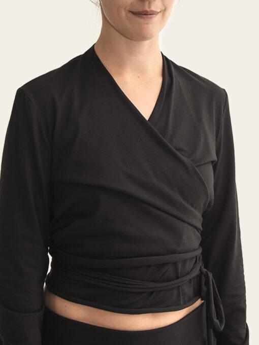 cotton yoga top