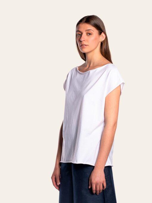 White organic cotton t-shirt